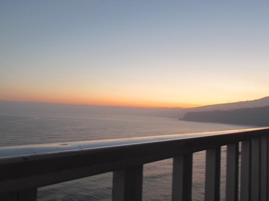 Рассвет на Тенерифе