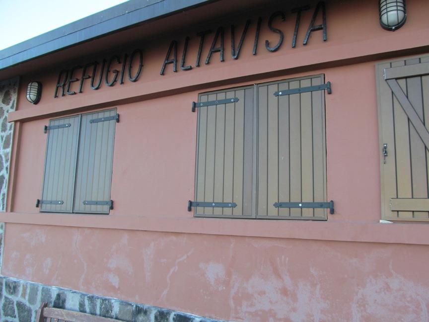 Горный приют Альтависта на Тенерифе