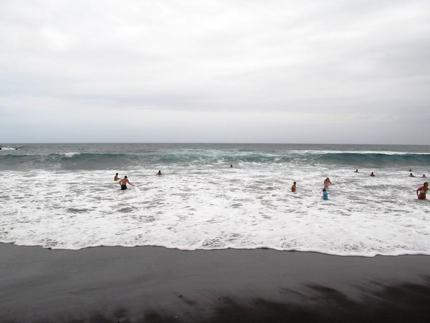 Волны на Тенерифе