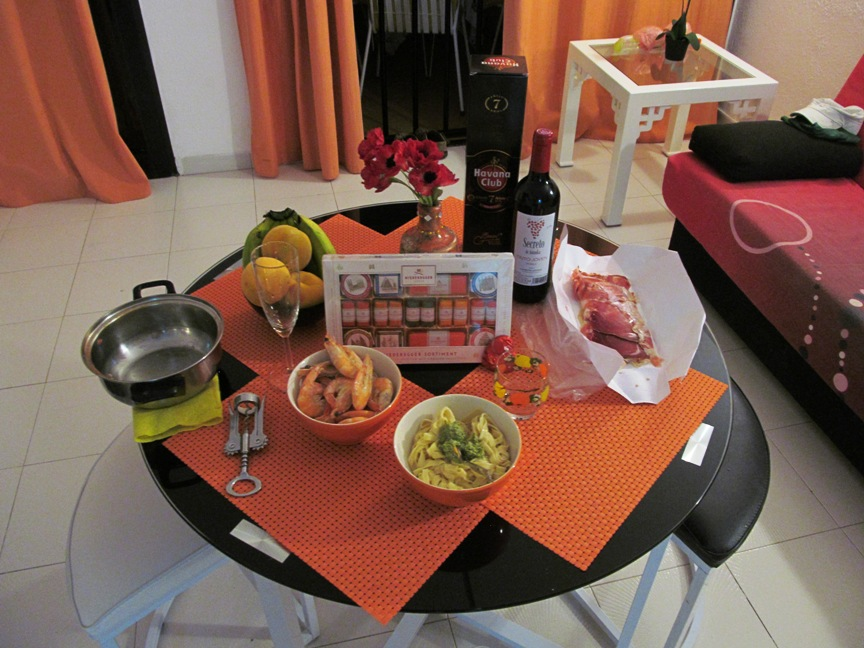 Ужин на Тенерифе