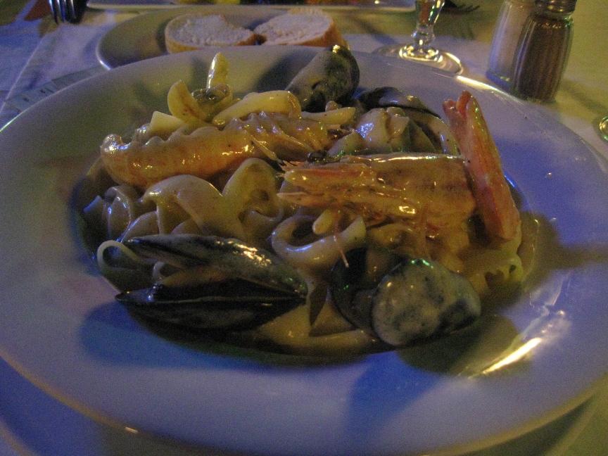 Фото тальятелле в ресторане Туниса