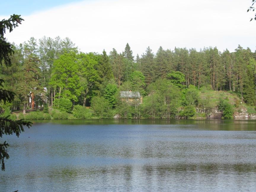 Озеро на Валааме фото