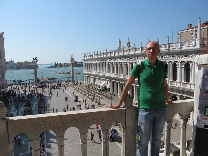 Prianikov в Венеции