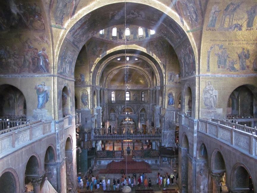 Собор Сан-Марко фото внутри