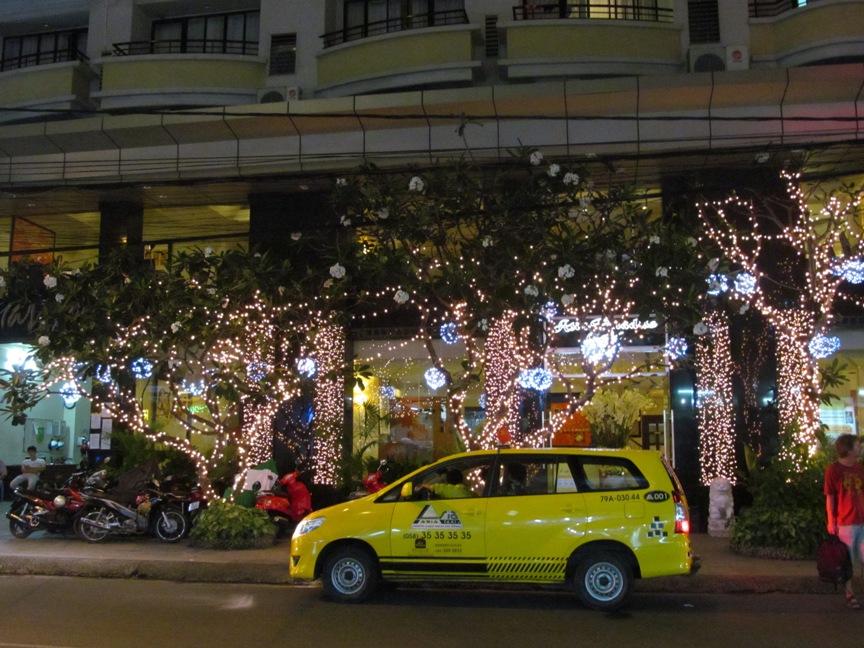 Фото такси в Нячанге