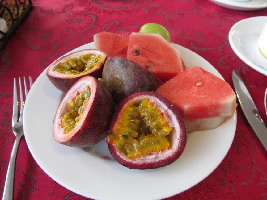 Завтрак в отеле Dendro Нячанг