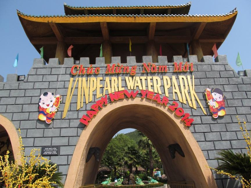 Вход в аквапарк VinPearl