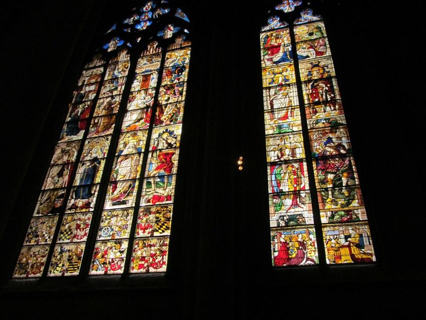 Кёльнский собор внутри, фото мозаики