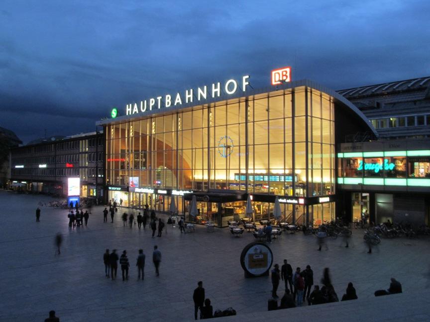 ЖД вокзал Кёльна