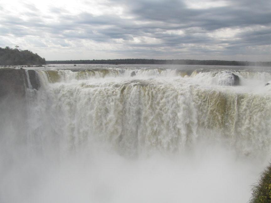 Горло Дьявола, водопад Игуасу