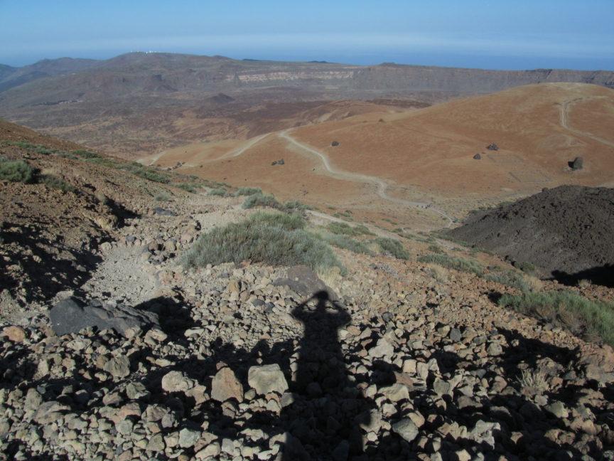 Марсианские пейзажи Тейде