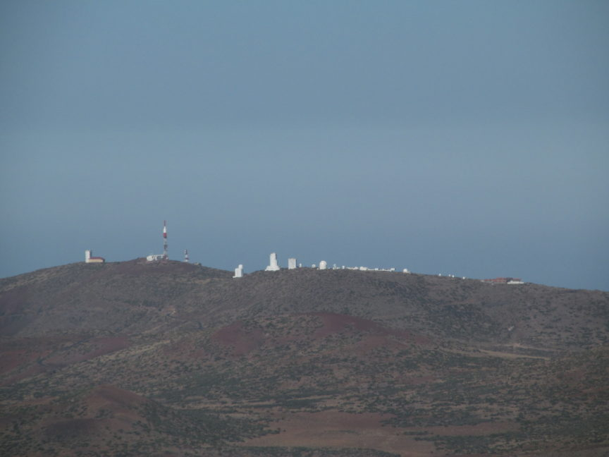 Обсерватория на Тенерифе фото