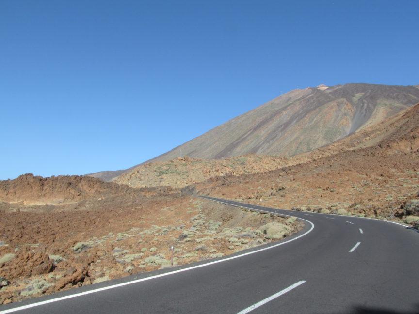 Дорога до Монтаньи Бланка на Тенерифе фото