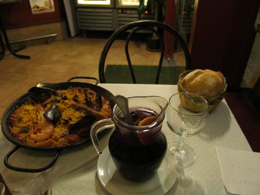 паэлья, сангрия, барселона