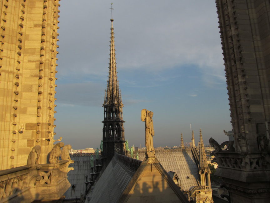 Собор Парижской Богоматери с башни