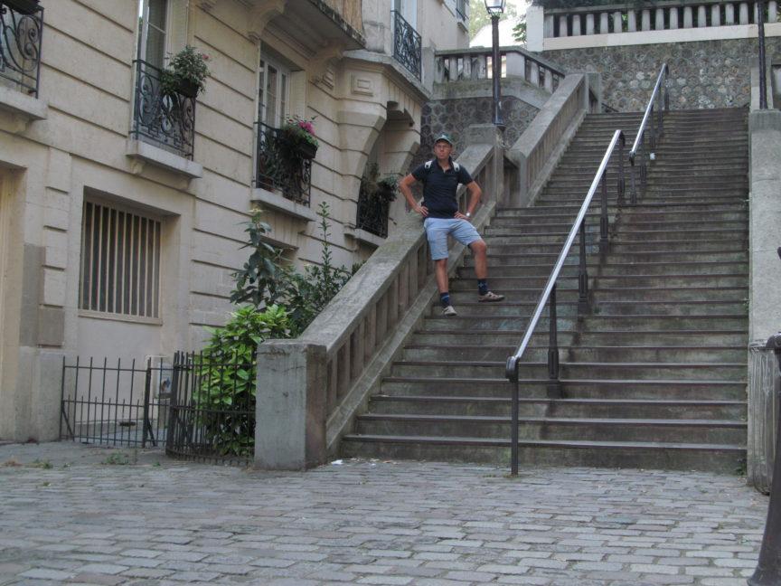 фотография Пряникова на Монмартре