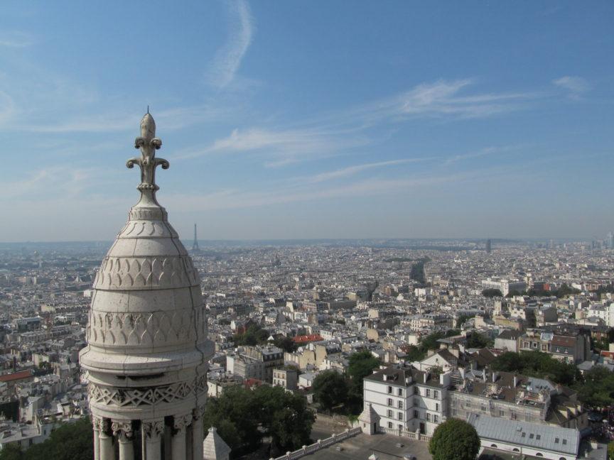 Фото с базилики Сакре Кёр