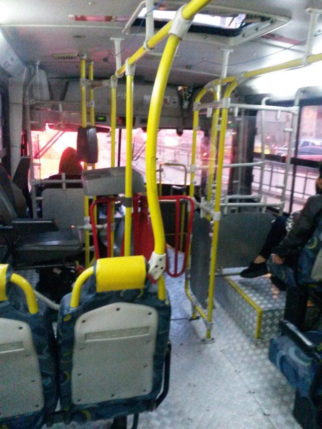 В автобусе в Рио-де-Жанейро