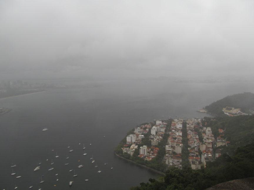 Панорама с Сахарной головы в Рио-де-Жанейро