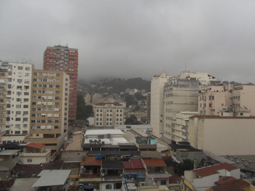 Вид на фавелы Рио-де-Жанейро