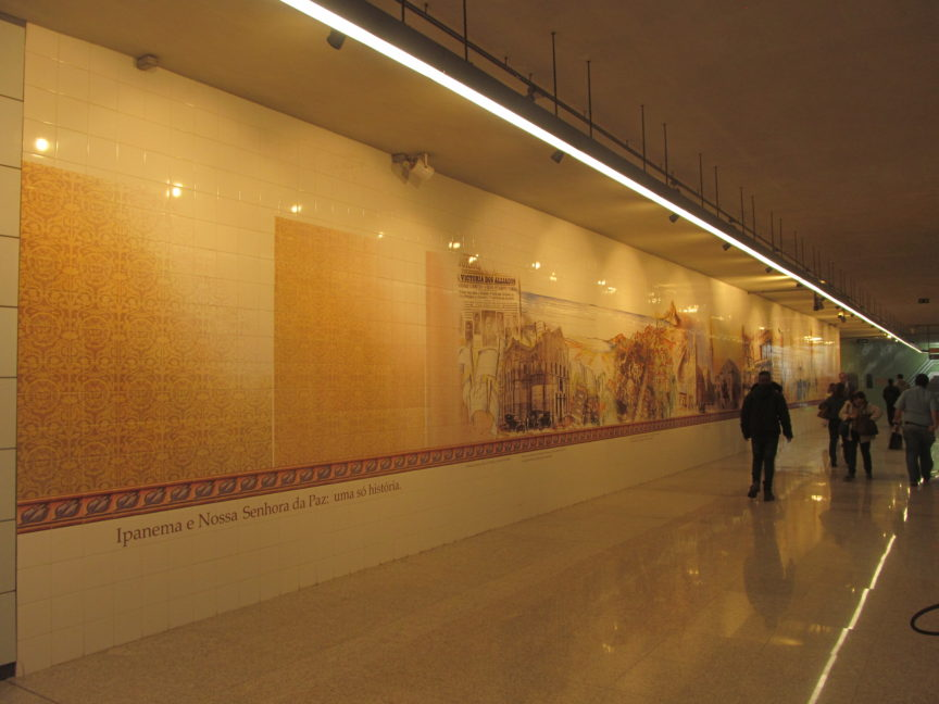 Станция метро Рио-де-Жанейро