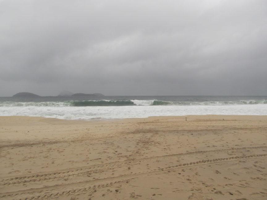 Атлантический океан в Рио-де-Жанейро