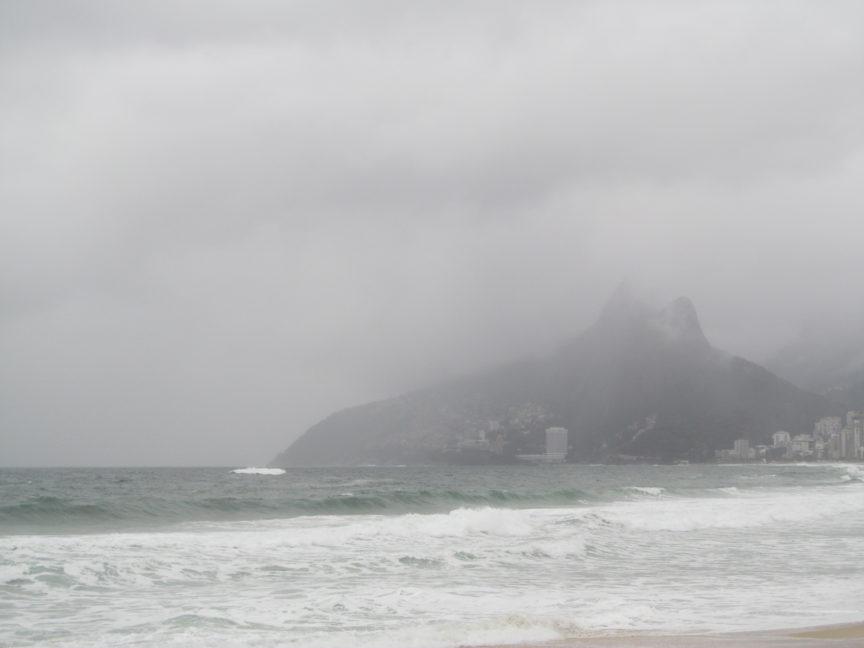Атлантический океан в Бразилии