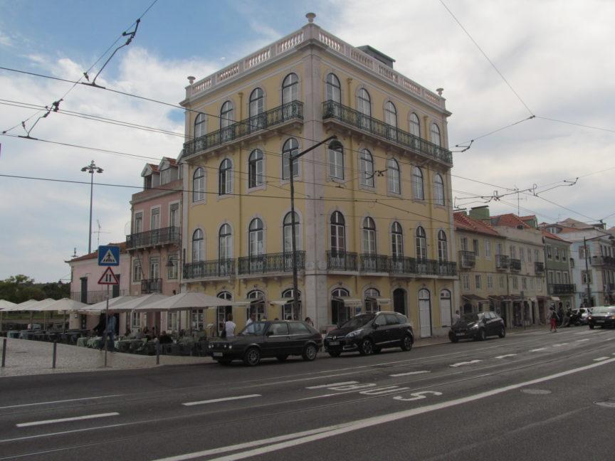 Лиссабон, дома района Белем