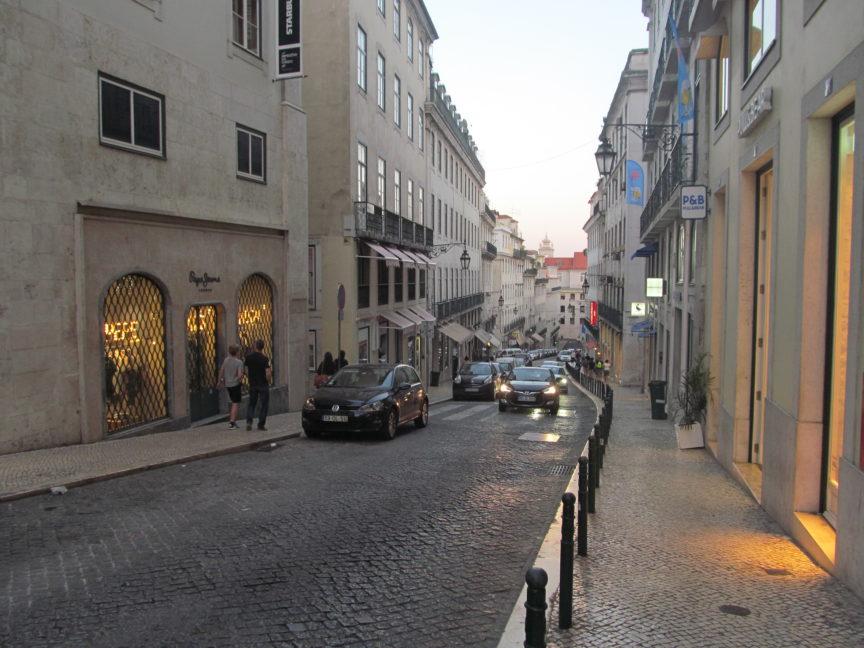 Одна из улиц Лиссабона