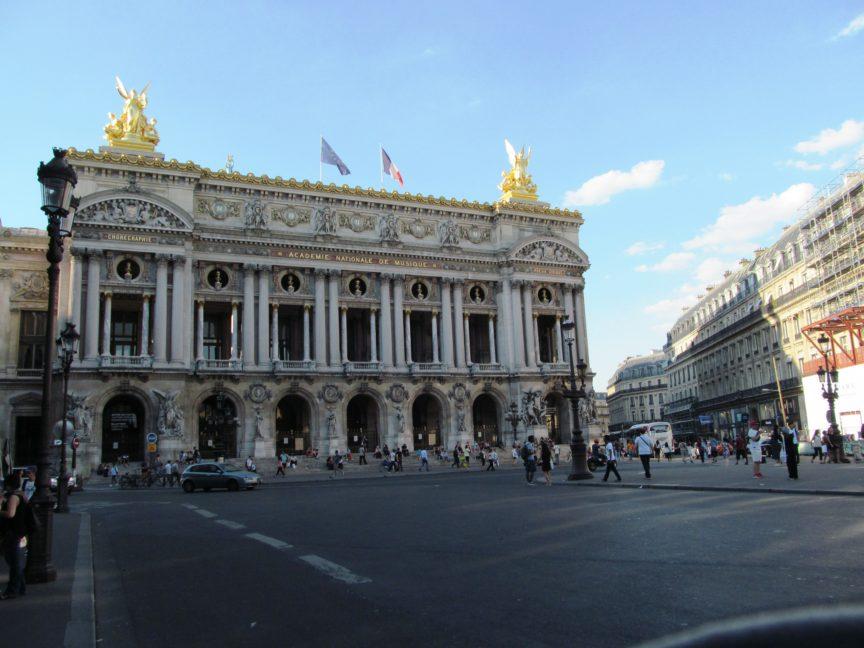 Опера Гарнье фото фасада