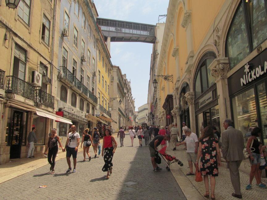 Rua do Carmo - Арбат Лиссабона
