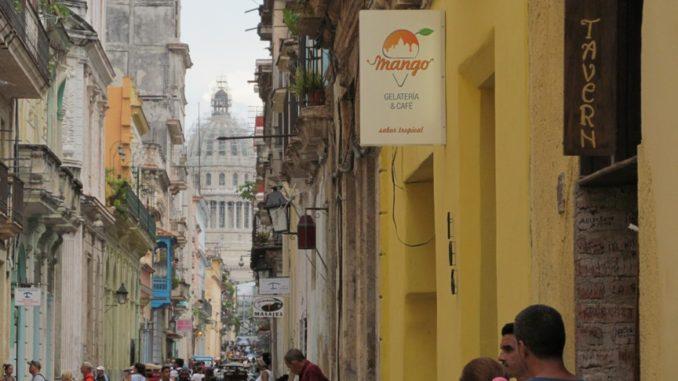 Улица Гаваны, Капитолий на Кубе