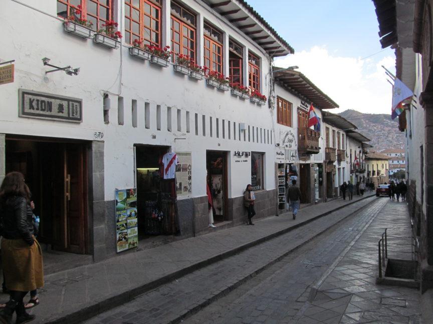 фото улицы Куско
