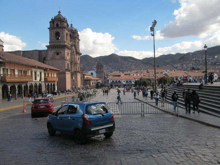 панорама центра Куско