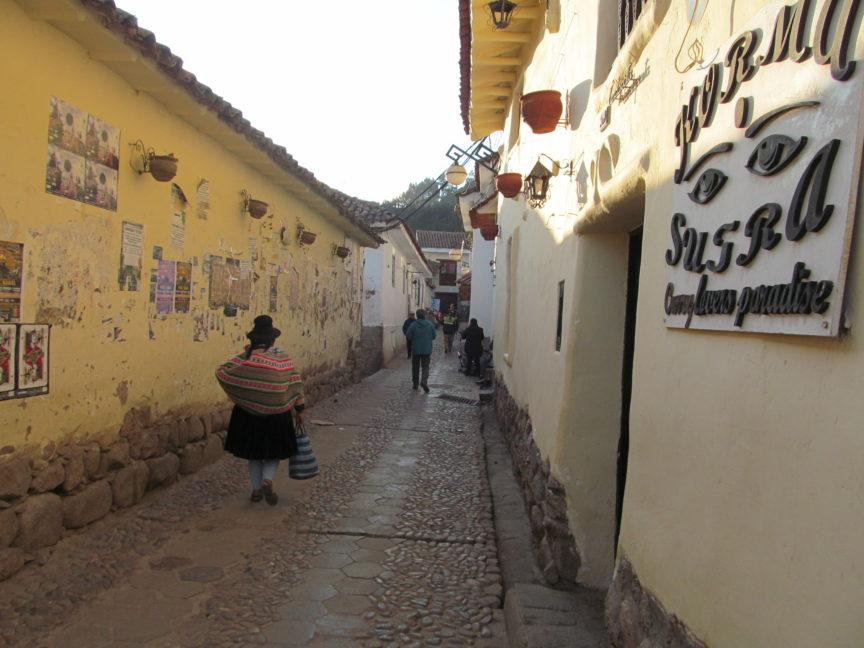 фото перуанки в Куско