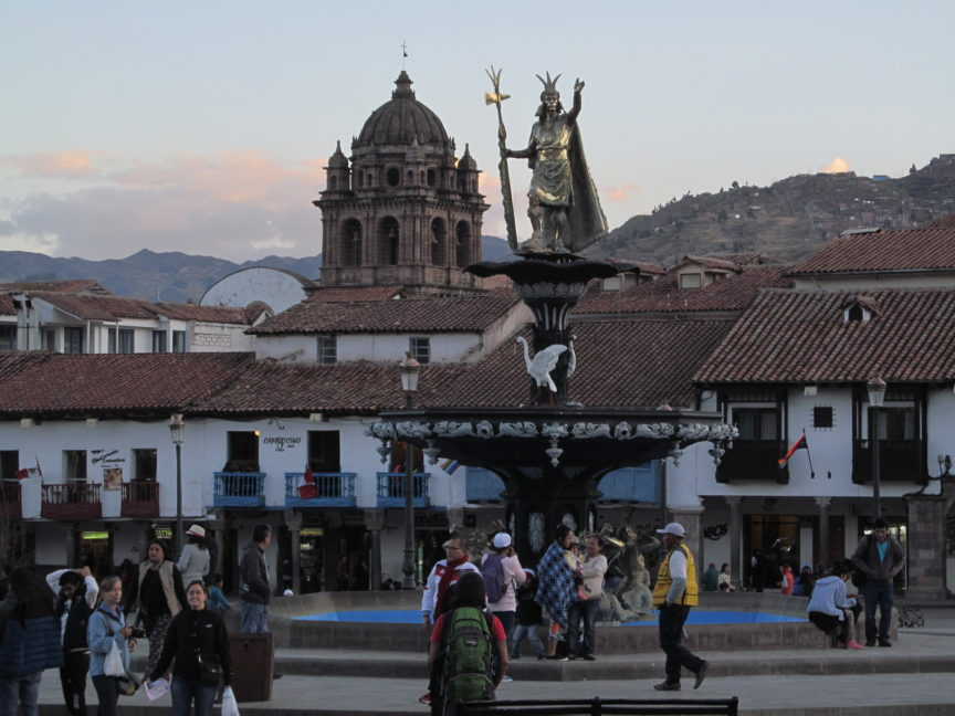 Памятник Пачакутеку в Куско
