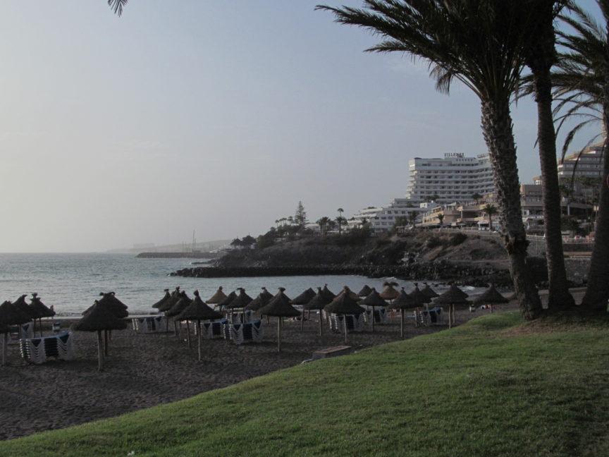 пляж тенерифе тройя фото