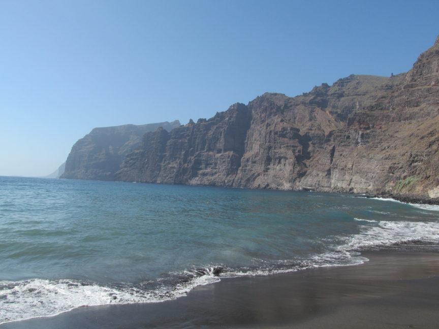 пляж тенерифе в лос-гигантес фото