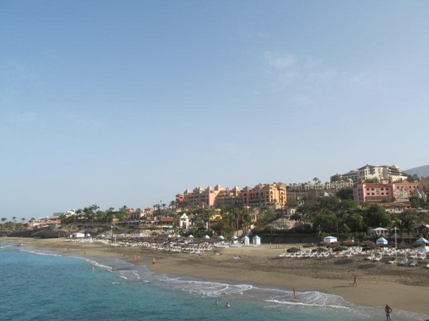 пляж тенерифе в коста-адехе эль-дюке фото