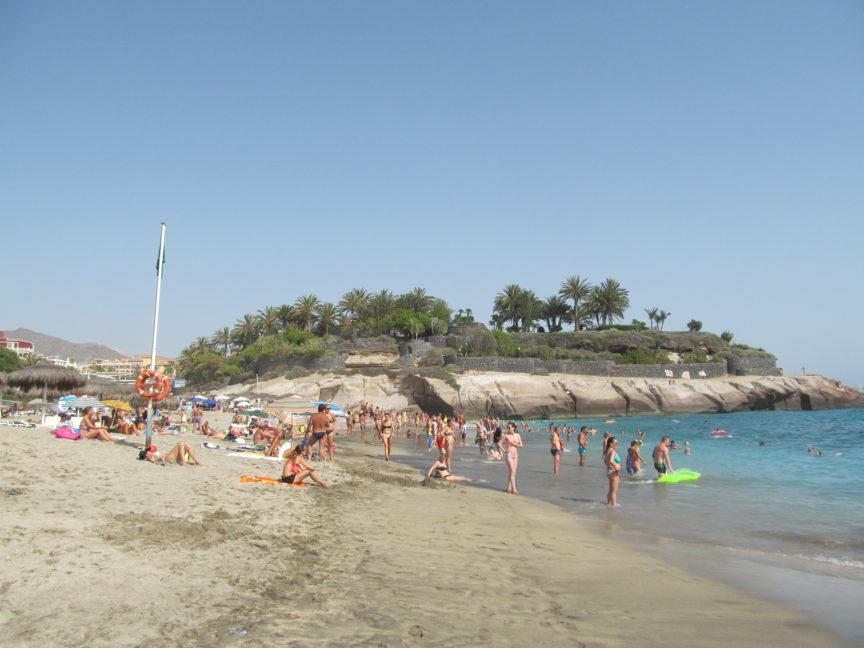 пляж тенерифе эль дюк фото
