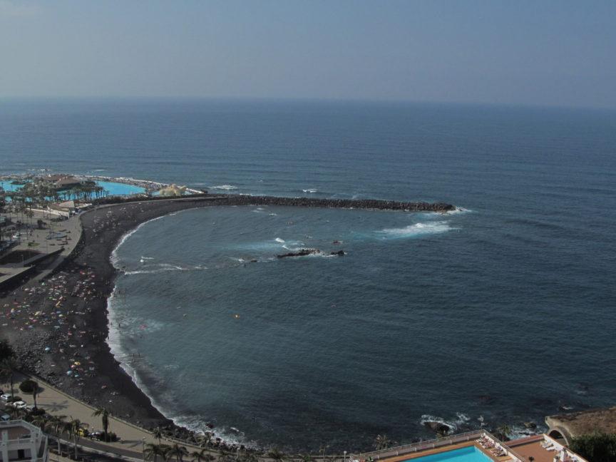 Пляж Мартианес на Тенерифе фото