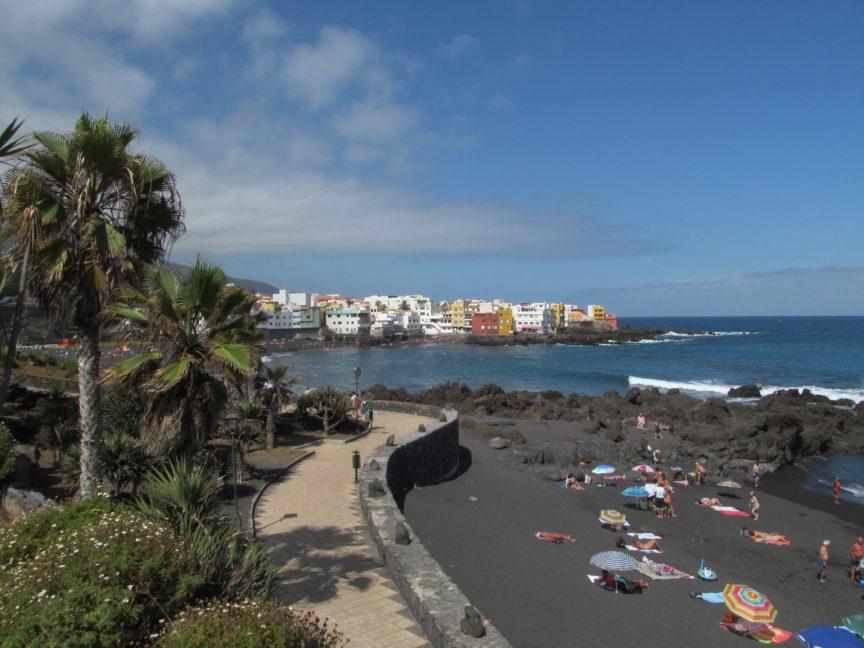 пляж жардин тенерифе фото