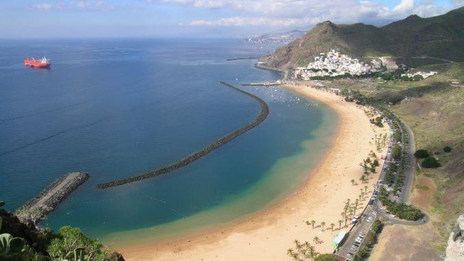пляж тенерифе тереситас фото