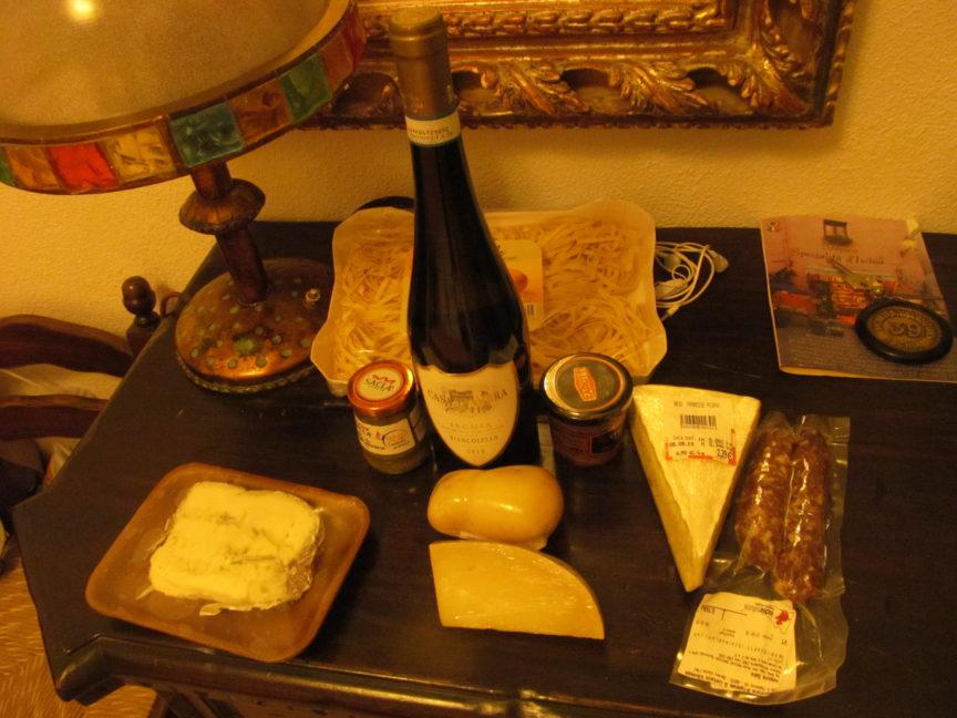Сыр в Италии на Искье