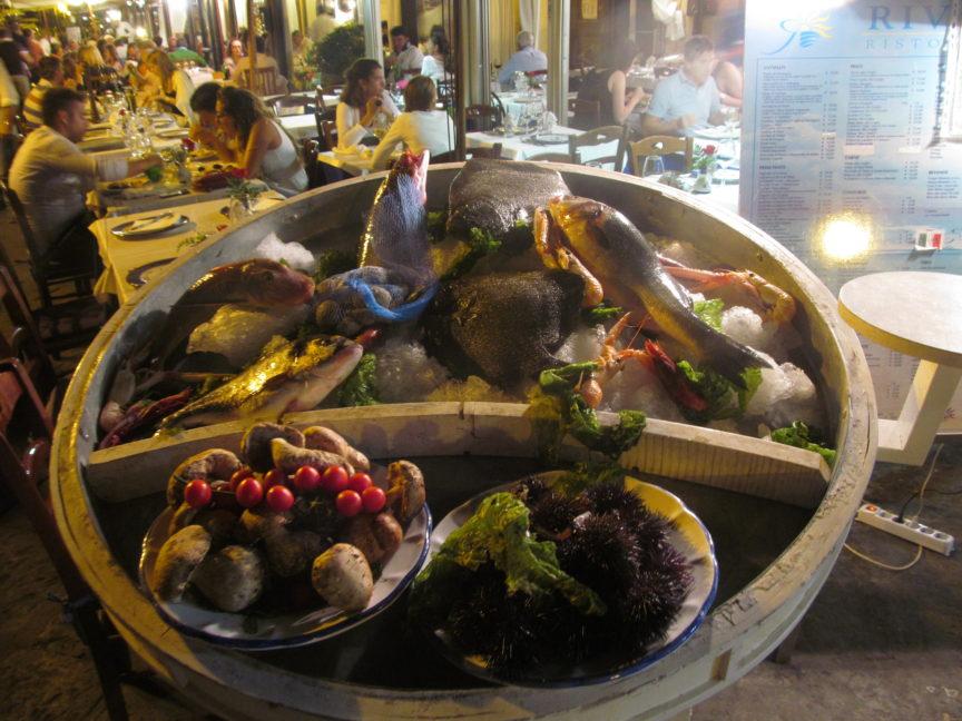 морепродукты на искье фото