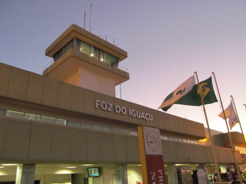 фос ду игуасу, бразилия, аэропорт