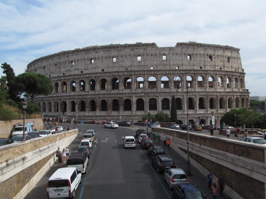 рим, колизей, фото