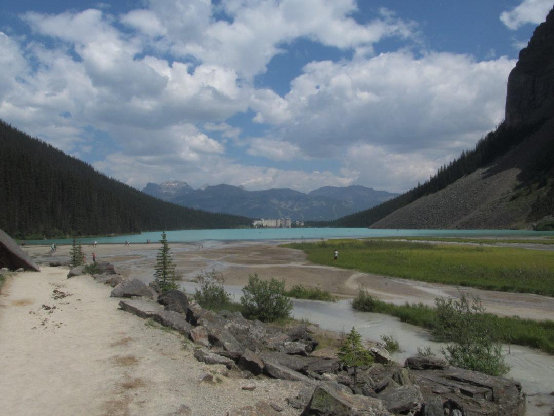 озеро луиза, поездка в канаду