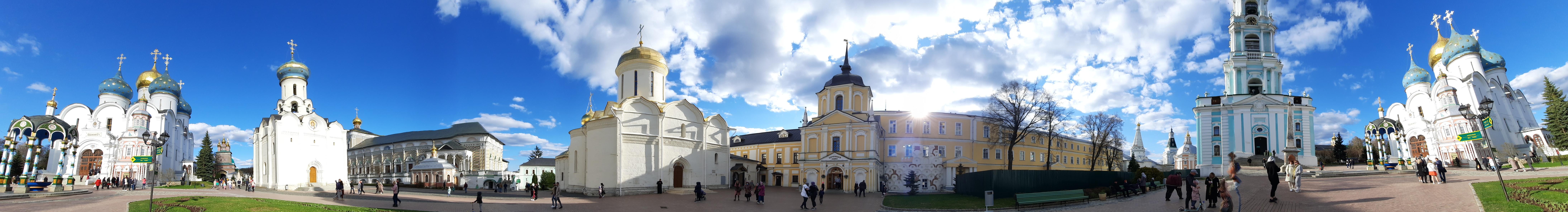 Панорама Свято-Троицкой Сергиевой Лавры