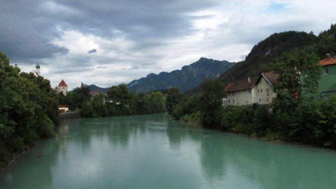 Река Лех - основная достопримечательность Фюссена